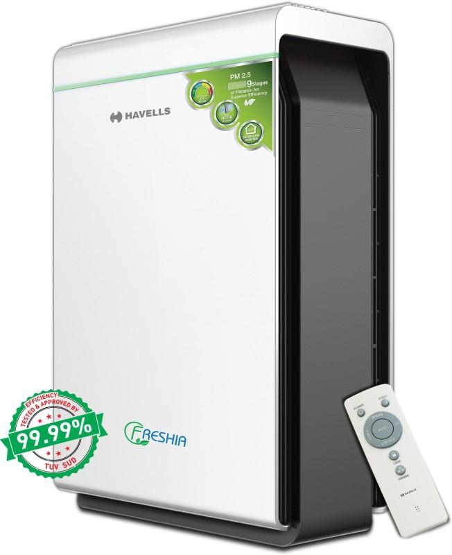 Havells AP46 Portable Room Air Purifier(Black, White)