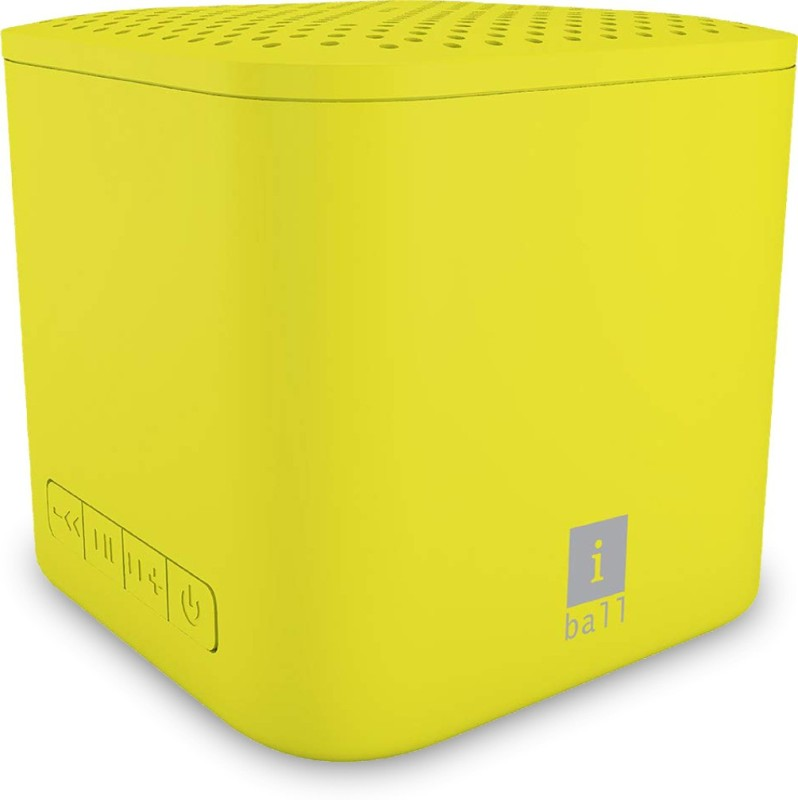 iBall Musi Cube X1 3 W Bluetooth Speaker(Yellow, Stereo Channel)