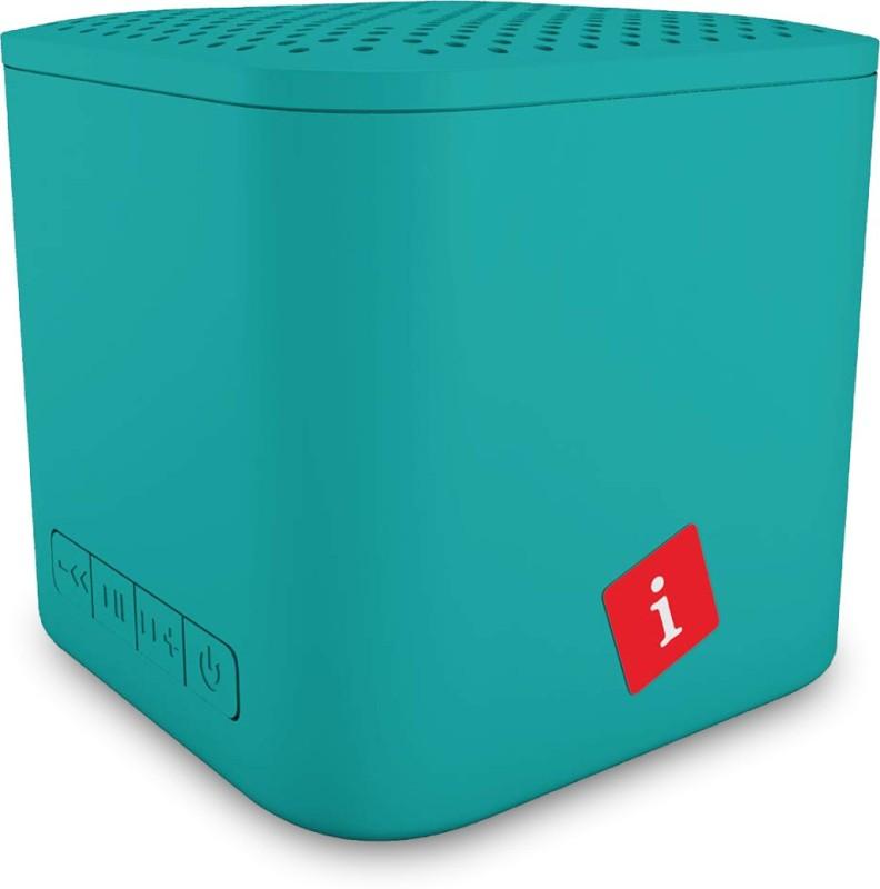 iBall Musi Cube X1 3 W Bluetooth Speaker(Aqua Blue, Stereo Channel)