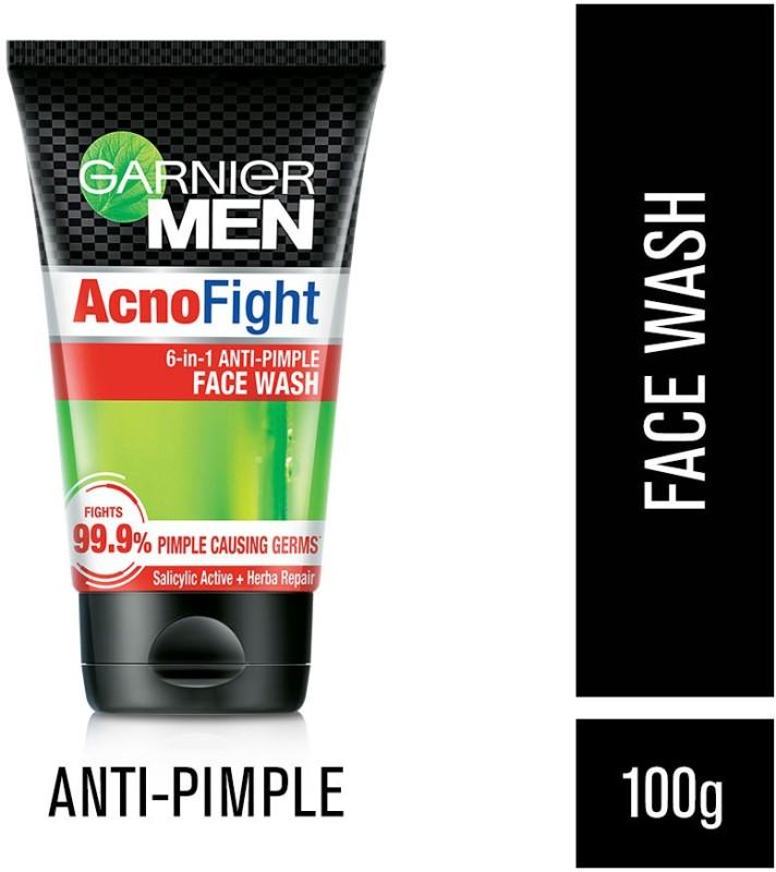 Garnier Men Acno Fight Anti-Pimple Face Wash(100 g)