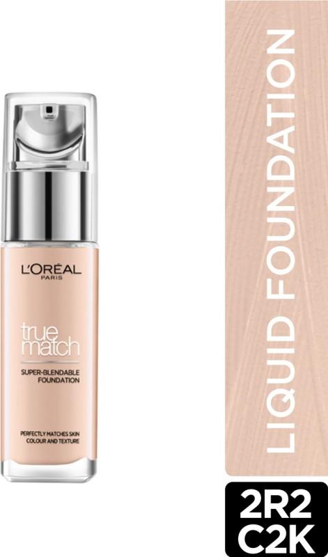 L'Oreal Paris True Match Super Blendable Liquid Foundation(Rose Vanilla 2R2C2K, 30 ml)