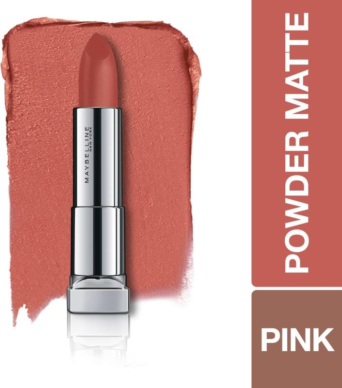 Maybelline New York Color Sensational Powder Matte Lipstick(Make Me Blush, 3.9 g)