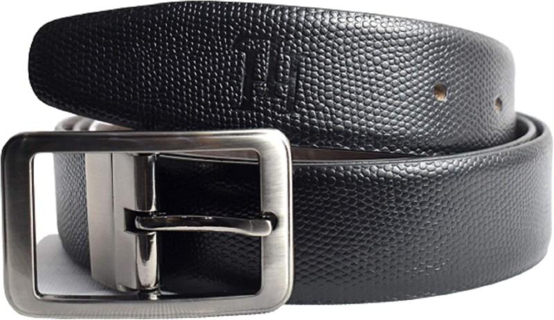 heath ledger Men Black Genuine Leather Belt