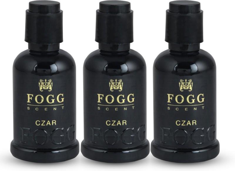 Fogg CZAR Deodorant Spray - For Men & Women Pack of 3 (45ml) Deodorant Spray - For Men & Women(90 ml, Pack of 3)