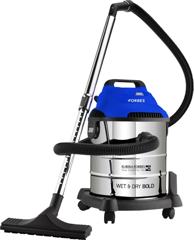 Eureka Forbes bold wet and dry vacuum cleaner(Blue, Silver, Black)