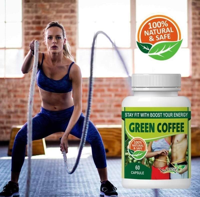 NATURAL Green Coffee For Fat Burner 100% Ayurvedic(500 mg)