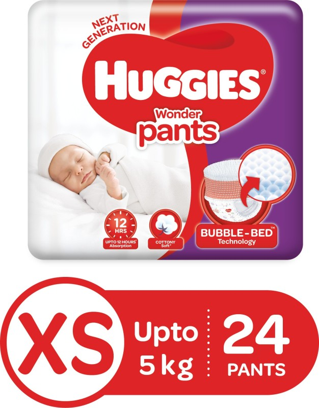 Huggies Wonder Pants Diaper - XS(24 Pieces)