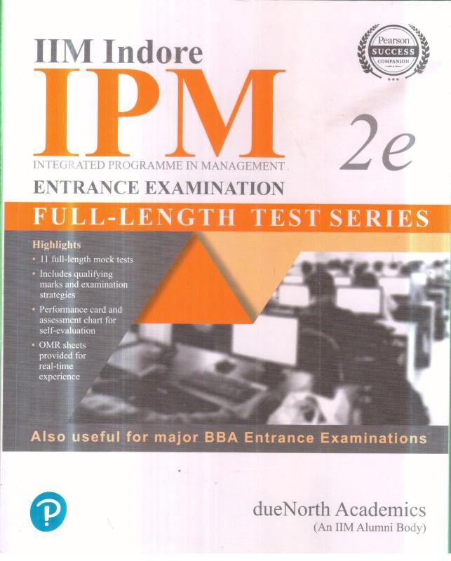 IIM INDORE IPM ENTRANSE EXAMINATION 2E(ENGLISH, Paperback, PANAL OF AUTHOR'S)