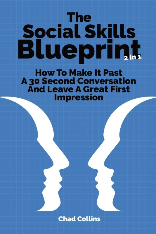 The Social Skills Blueprint 2 In 1(English, Paperback, Collins Chad)