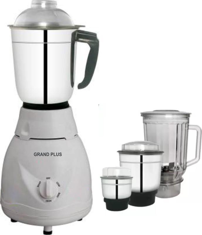 Grand plus Access Pro plus 4 Jar 650 Mixer Grinder(White, 4 Jars)