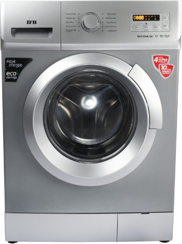 IFB 6 kg Fully Automatic Front Load with In-built Heater Silver(NEODIVA-SX)