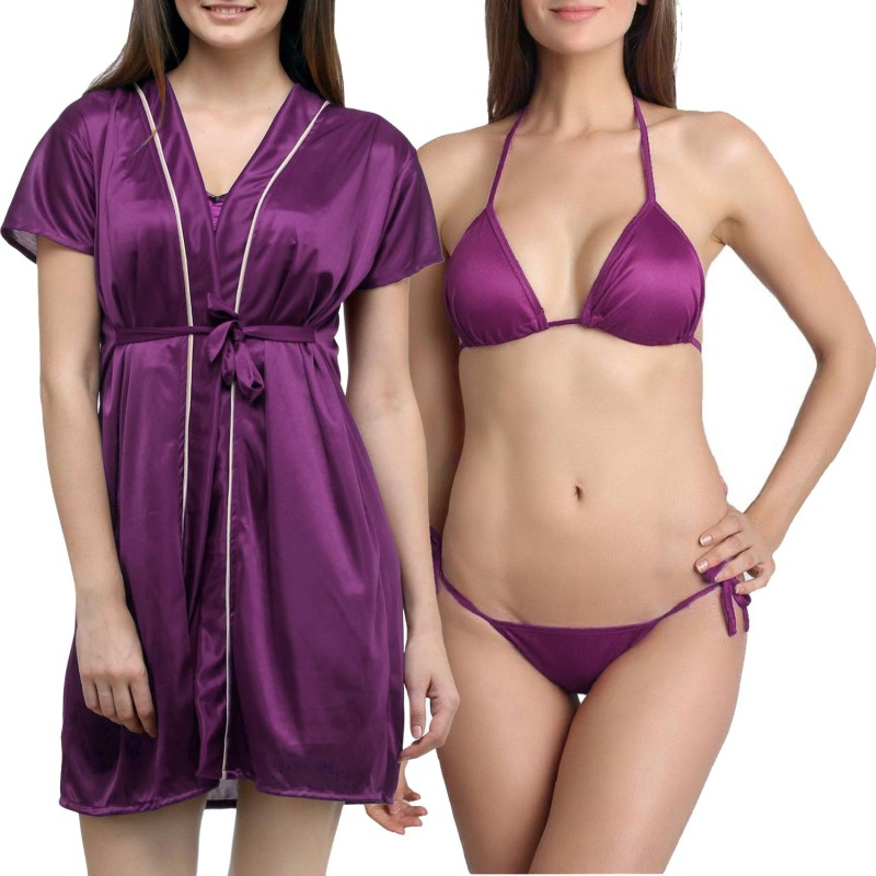 You Forever Women Robe(Purple)