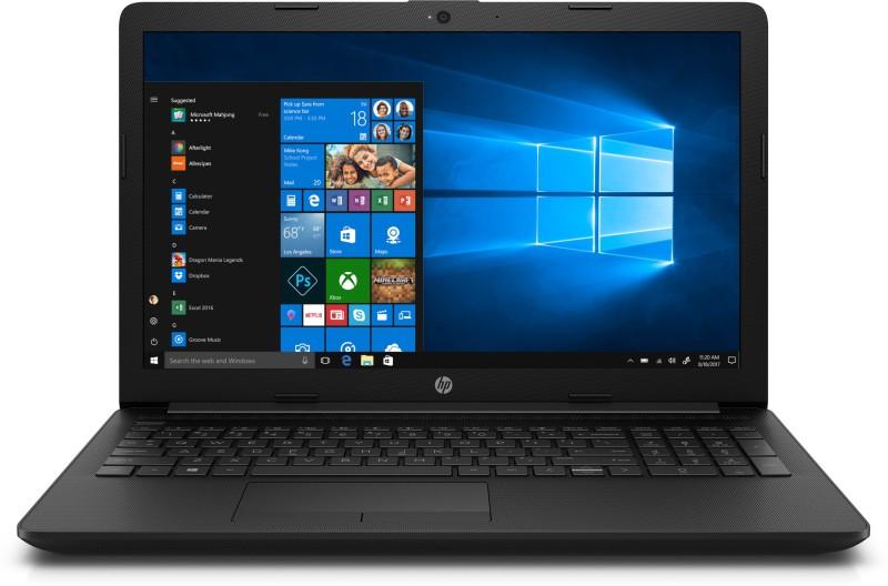 HP DI Core i3 7th Gen - (4 GB/1 TB HDD/Windows 10 Home) 15-di0002tu Laptop(15.6 inch, Jet Black, 2.18 kg)