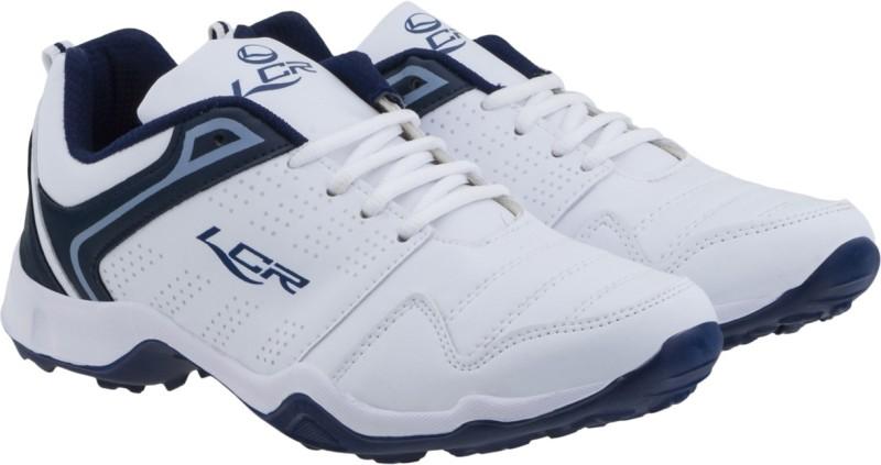 Lancer Running Shoes For Men(White, Navy)