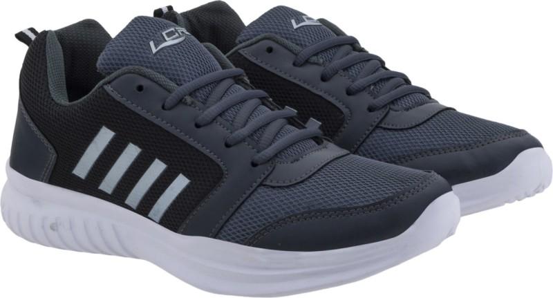 Lancer Running Shoes For Men(Grey, Black)