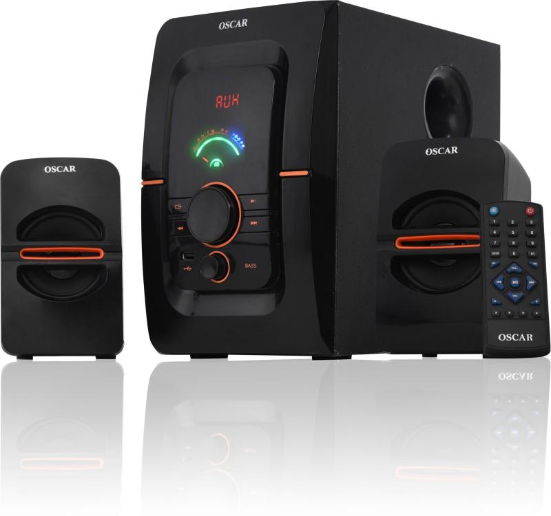 Oscar 2241BT 40 W Bluetooth Laptop/Desktop Speaker(Black, 2.1 Channel)