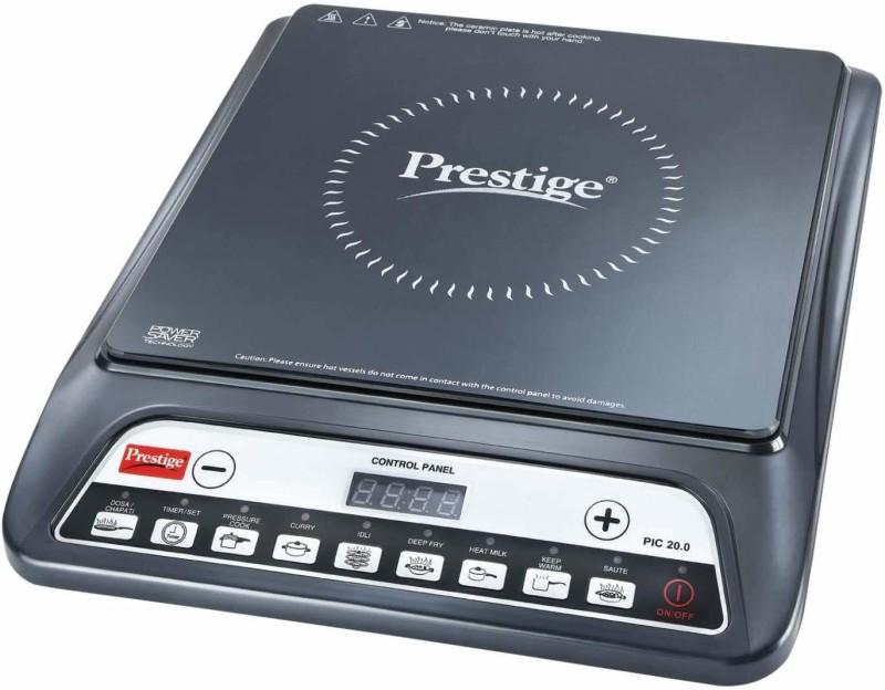 Prestige Induction cooktop Pic 20.0 - 1200 watt Induction Cooktop(Black, Push Button)
