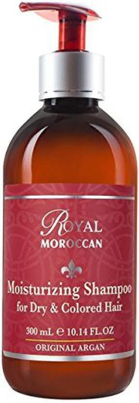 Royal Moroccan Moisturizing Shampoo For Dry & Colored Hair 10.14Oz [Cat_216](299.88036000000005 ml)