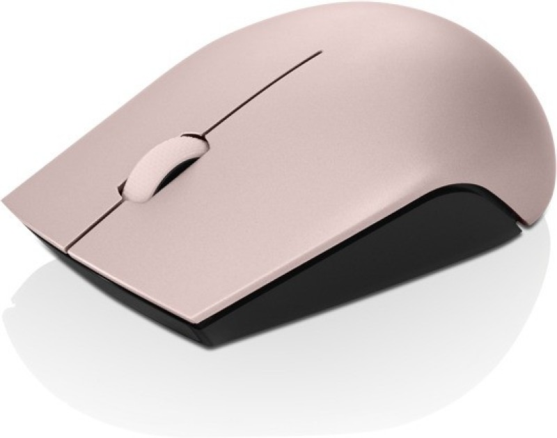 Lenovo 520 Wireless Optical Mouse(2.4GHz Wireless, Sand Pink)