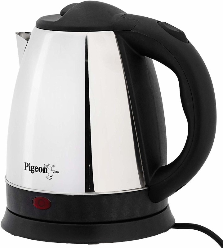 Pigeon Electric Kettle Hot - 1.5 Liter Electric Kettle(1.5 L, Silver & Black)
