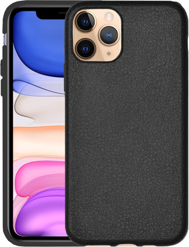 VAKIBO Back Cover for Apple iPhone 11 Pro(Black, Grip Case)