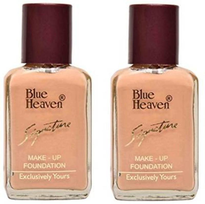 Blue Heaven BH SIGNATURE FOUNDATION COMBO Foundation(NATURAL, 30 ml)