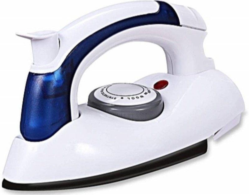 Oxfo Travel Folding Handel Portable 230 W Dry Iron(White)