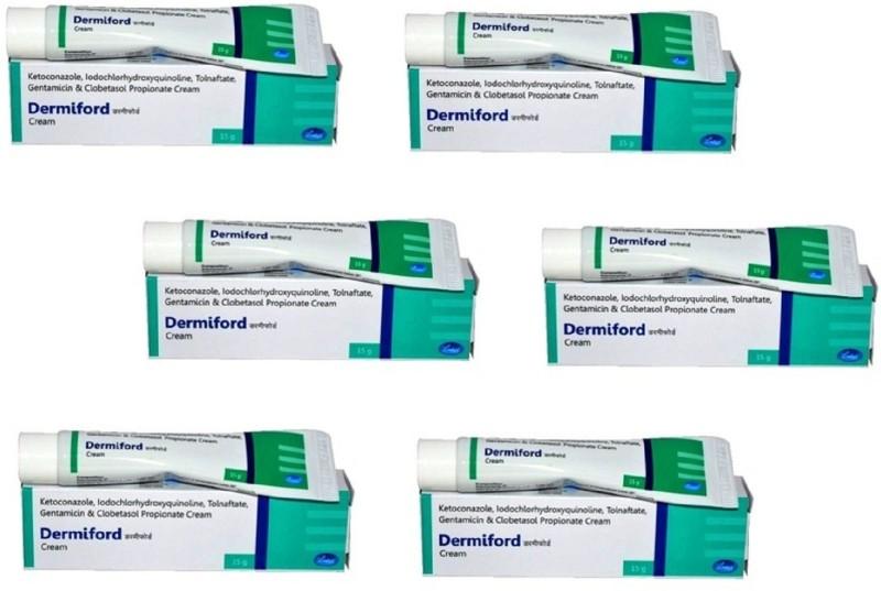 Leeford Dermiford Skin Cream ( 6 Pc x 15 gm )(90 g)