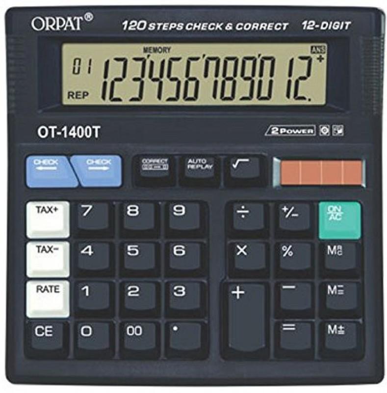 Orpat OT 1400T OT 1400T Basic  Calculator(12 Digit)