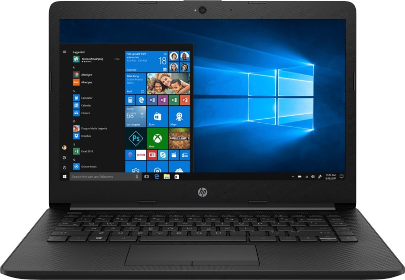 HP 14q Core i3 8th Gen - (8 GB/256 GB SSD/Windows 10 Home) 14q-cs0029TU Thin and Light Laptop(14 inch, Black, 1.47 kg, With MS Office)