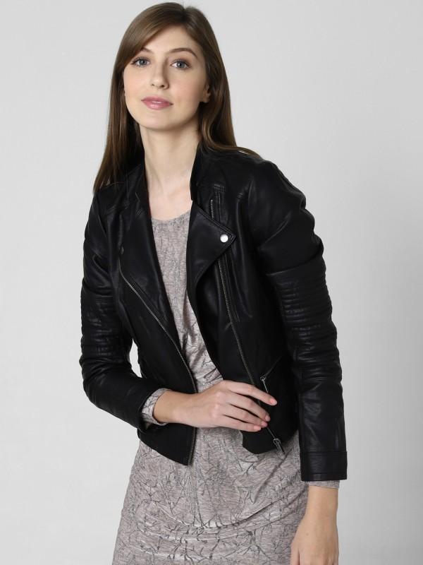 Vero Moda Full Sleeve Solid Women Jacket