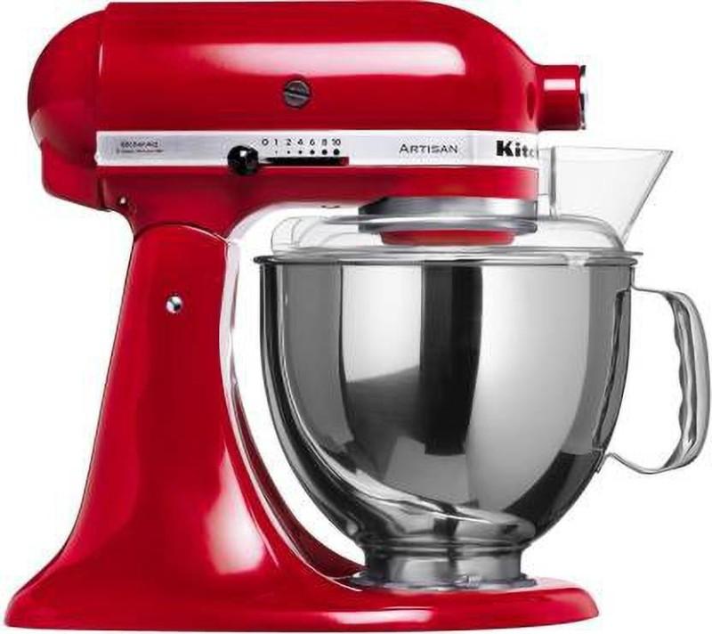 KITCHEN AID 5KSM150PSDER 300 W 300 Mixer Grinder(Red, 1 Jar)