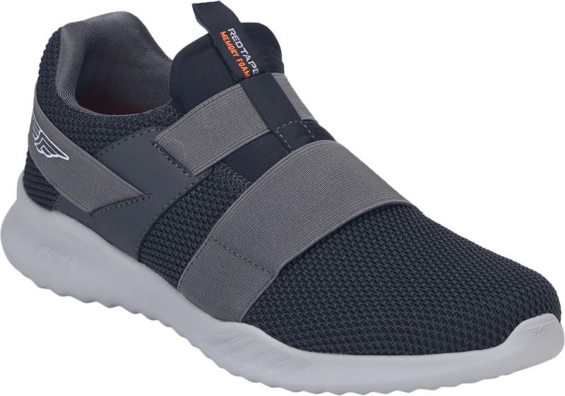 Red Tape Athleisure Range Walking Shoes For Men(Grey, Black)