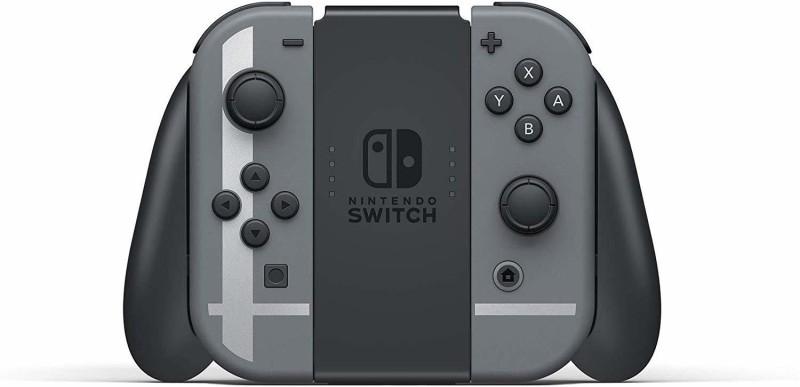 Nintendo Switch Super Smash Bros Bundle 32 GB with Super Smash Bros Ultimate Edition(Black)