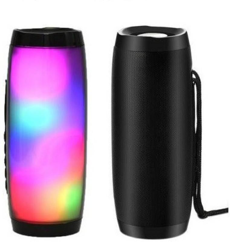 sankie TG 157 J_B_L Design Light Splash proof Portable Mega Bass Bluetooth Home Speaker A10 Mobile/Tablet Speaker (Multicolor, Mono Channel) 5 W Bluetooth Speaker(Multicolor, Stereo Channel)