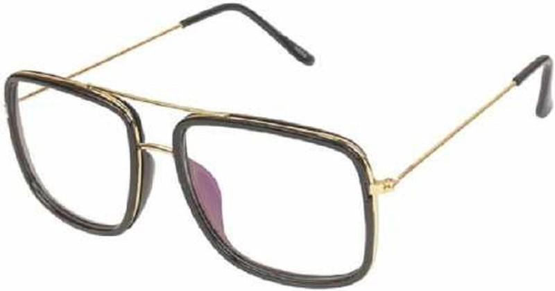 femish Rectangular Sunglasses(Clear)