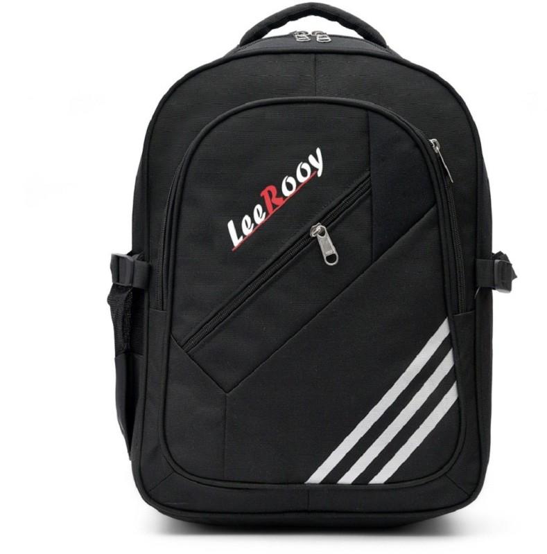 LeeRooy VIVBG31BLK-11 Waterproof School Bag(Black, 26 L)