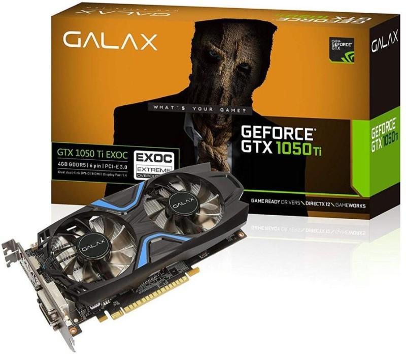 GALAX NVIDIA alax tx 1050 4 GB DDR5 Graphics Card