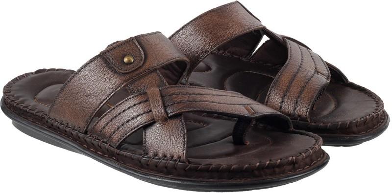 Metro Men Brown Sandals