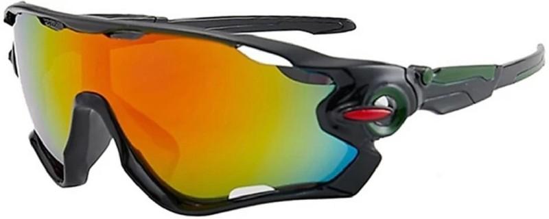 FEMISH Rectangular Sunglasses(Multicolor)