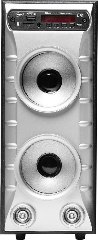 Depth Audio Mini Component 2.0 Tower Speaker 54 W Bluetooth Tower Speaker(Silver, 2.0 Channel)