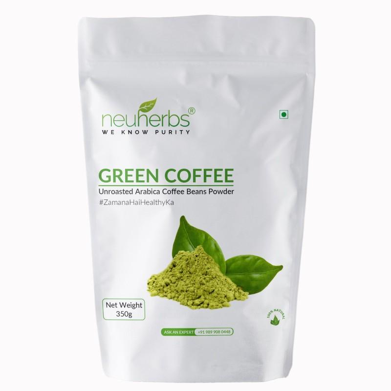 Neuherbs Organic Green Coffee Beans Powder - 350g(350 g)
