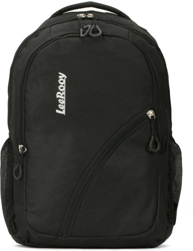 LeeRooy Canvas 25 Ltr Black Attrective Bag Backpack Waterproof Backpack(Black, 22 L)