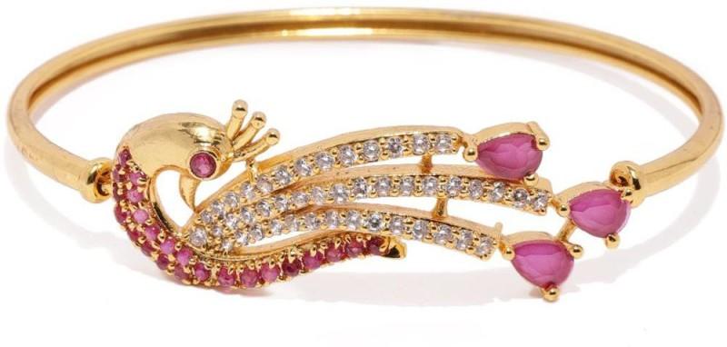 Zaveri Pearls Brass Gold-plated Kada