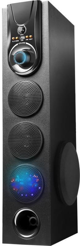 Drezel Hi Fi Dj 500 W with one 4.25 woofer and 25000 PMPO Multimedia Bluetooth Tower Speaker Bluetooth Tower Speaker(Black, 2.1 Channel)
