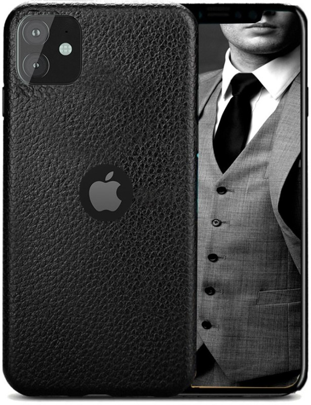 GLOVER Back Cover for Apple Iphone 11(Black)