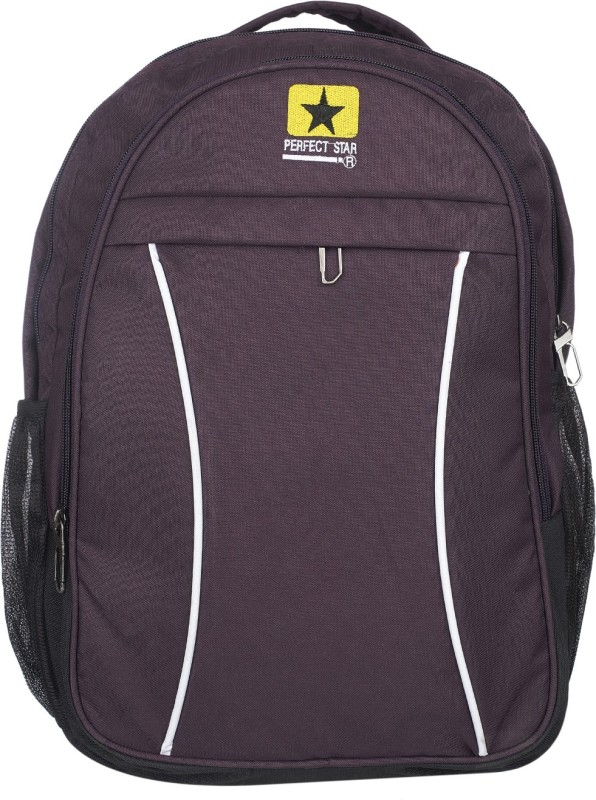 perfect star 18 inch Expandable Laptop Backpack(Purple)