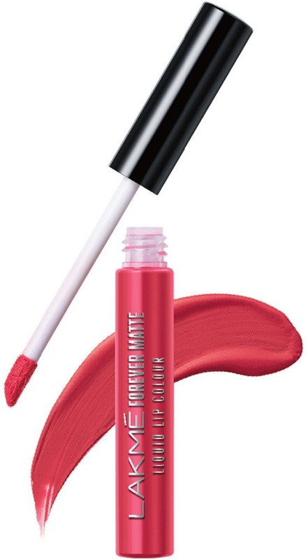 Lakme Forever Matte Liquid Lip Colour -(Coral Candy, 5.6 ml)