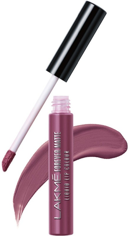 Lakme Forever Matte Liquid Lip Colour -(Mauve Fling, 5.6 ml)