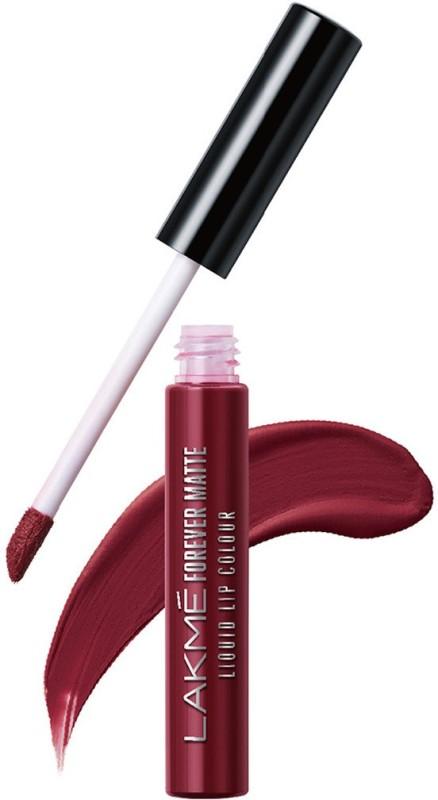 Lakme Forever Matte Liquid Lip Colour -(Red Sangria, 5.6 ml)